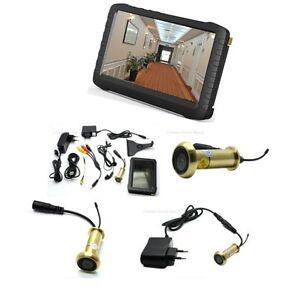 Hot best door viewer solution wireless door peephole for Door peephole camera