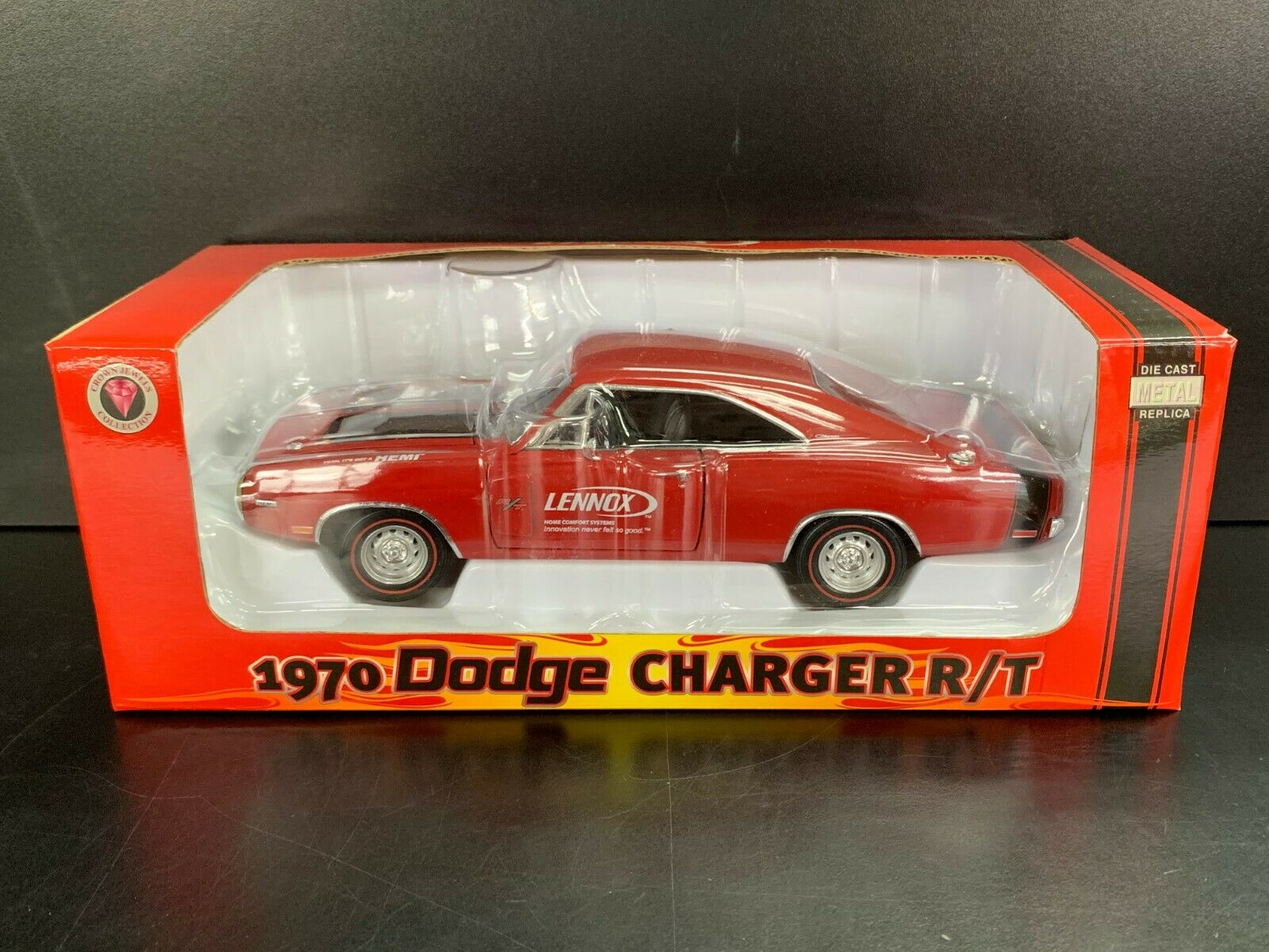 1970 Dodge Charger RT Hemi SCALA 1 24 DIE CAST Replic Lennox 2006 CoroNA Premium