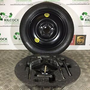 KIA CEED ESTATE SPARE WHEEL WITH TYRE SPACE SAVER 529101H900 T12580D15 - Kildare, United Kingdom - All items are shipped using FASTWAY, UPS or AN POST(ROYAL MAIL, LA POSTE, CORREOS ETC) . Each of our couriers have selected areas that they will not provide shipping options for or the delivery times vary with each company theref - Kildare, United Kingdom
