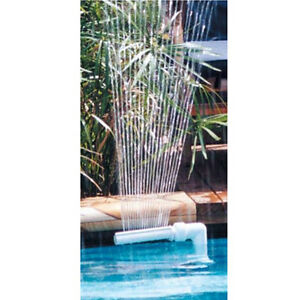 Kokido 14 39 waterfall fountain for in ground and above - Swimming pool water fountain kits ...