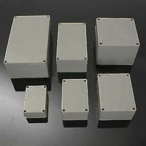 Easy Use Plastic Electronics Project Box Enclosure Instrument Case 6 ...