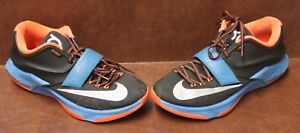3e5c387a245a Nike KD VII 7 Black Photo Blue-Hyper Crimson-Metallic Silver Sz 8.5 ...