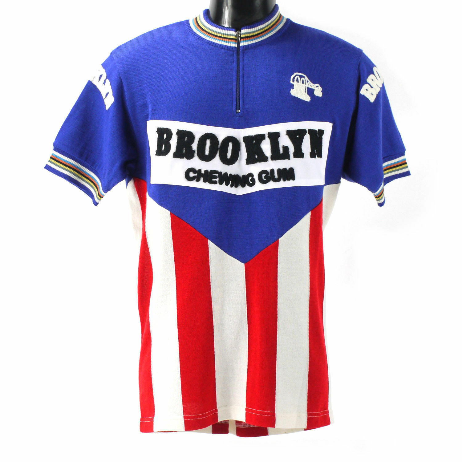 Brooklyn merino wool cycling jersey with chain stit ng  - Eroica  buy cheap new