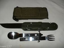 Lot 2 Couteaux Multifonctions Armée Camping Chasse Peche Rando Bivouac..