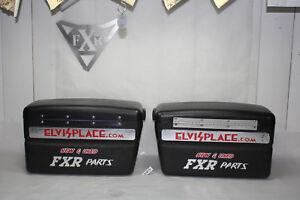 """Harley FXR Police FXRP saddlebags Sheriff FXRT FXRD """" Elvis' Place """" EPS21816"""