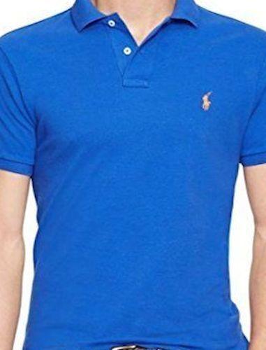 Classique Polo Hommes Manches T Lauren shirt~ Ralph Coupe Courtes Maille RaaWqxUIw1