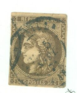 FRANCE-46-ISSUED-1870-71-VERY-NICE-CONDITION-CANCELLED
