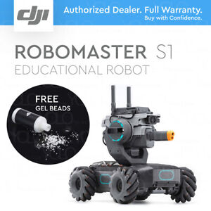 DJI RoboMaster S1 Educational Robot STEM Scratch 3.0 & Python Coding + GEL BEADS