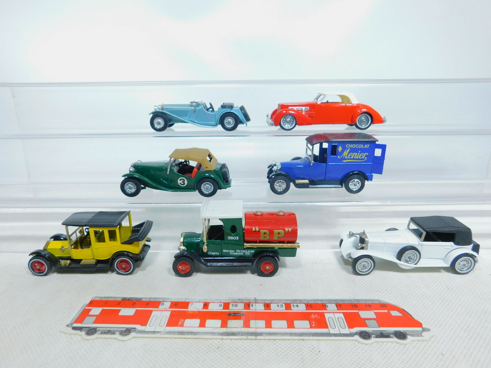 By370-2  7x MATCHBOX Modèle  y-5  y-1  y-16  y-8  y-7  yy18  Ford Model T