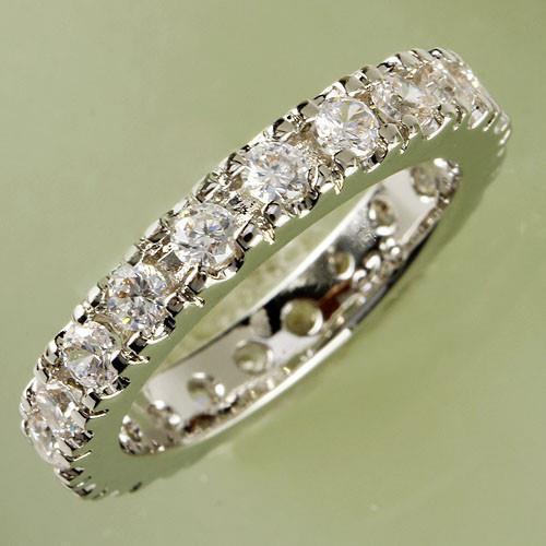 Round Cut White Topaz 925 Sterling Silver Wedding Band STAMPED 7,8,9,10 ONLINE