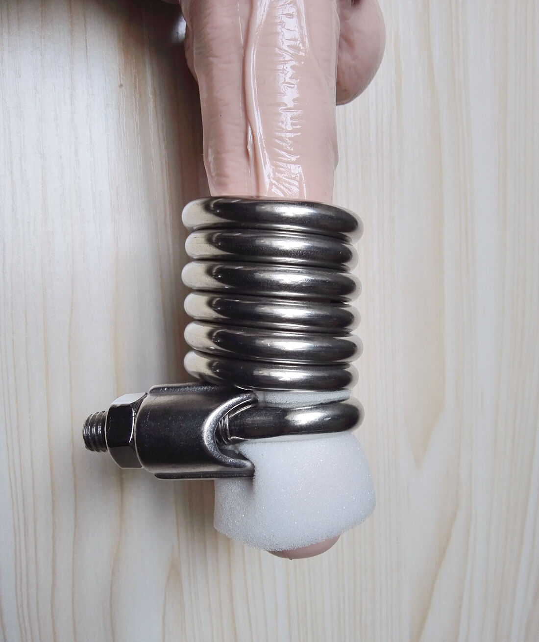12 Rings Stainless Steel Male Penis Extender Enlargement System Enlarger Stretch  Ebay-7543