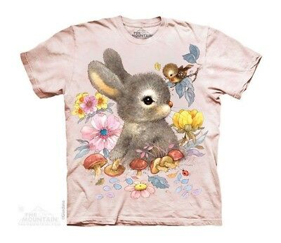 Baby Bunny Kids T-Shirt from The Mountain Cute Rabbit Chick Child Sizes NEW