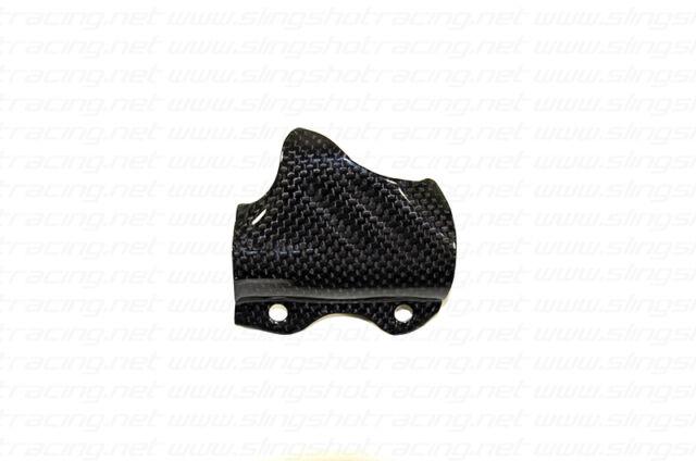 Ducati ST3/ST4/620SS Rear Brake Master Cylinder Pump Shield Carbon Fiber
