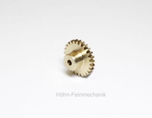 Gear Spur Gear Made from Brass 18 Teeth With Hub Module 0,5