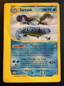 Carte-Pokemon-TORTANK-37-165-Rare-Expedition-Wizard-Francaise-Proche-NEUF