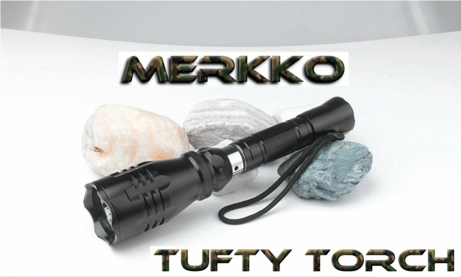 Merkko Tufty Torch NEW Carp Fishing Bird Scaring Torch