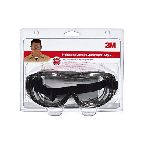 3M 91264-80025 Chemical Splash//Impact Goggle 1-pk