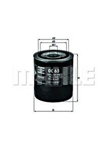 MAHLE Oil Filter For FORD FIAT TATA LANCIA Granada Scorpio I Sierra Sw EFL164
