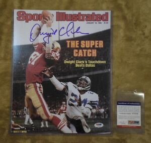 a74fbefd3 Image is loading SAN-FRANCISCO-49ERS-DWIGHT-CLARK-SIGNED-AUTOGRAPHED-11x14-