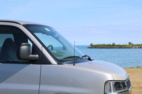 "12/"" Black Spring Stainless AM//FM Antenna Mast Fits 05-08 Chrysler PT Cruiser Con"