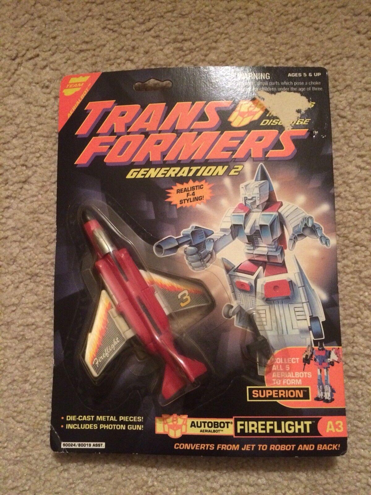 Transformers Fireflight G2 MOC MOSC Lot  1