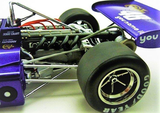 1 F Grand Prix de Fórmula 18 Vintage Race Car 43 Sport enano 24 exótico 1970s 12 Sprint