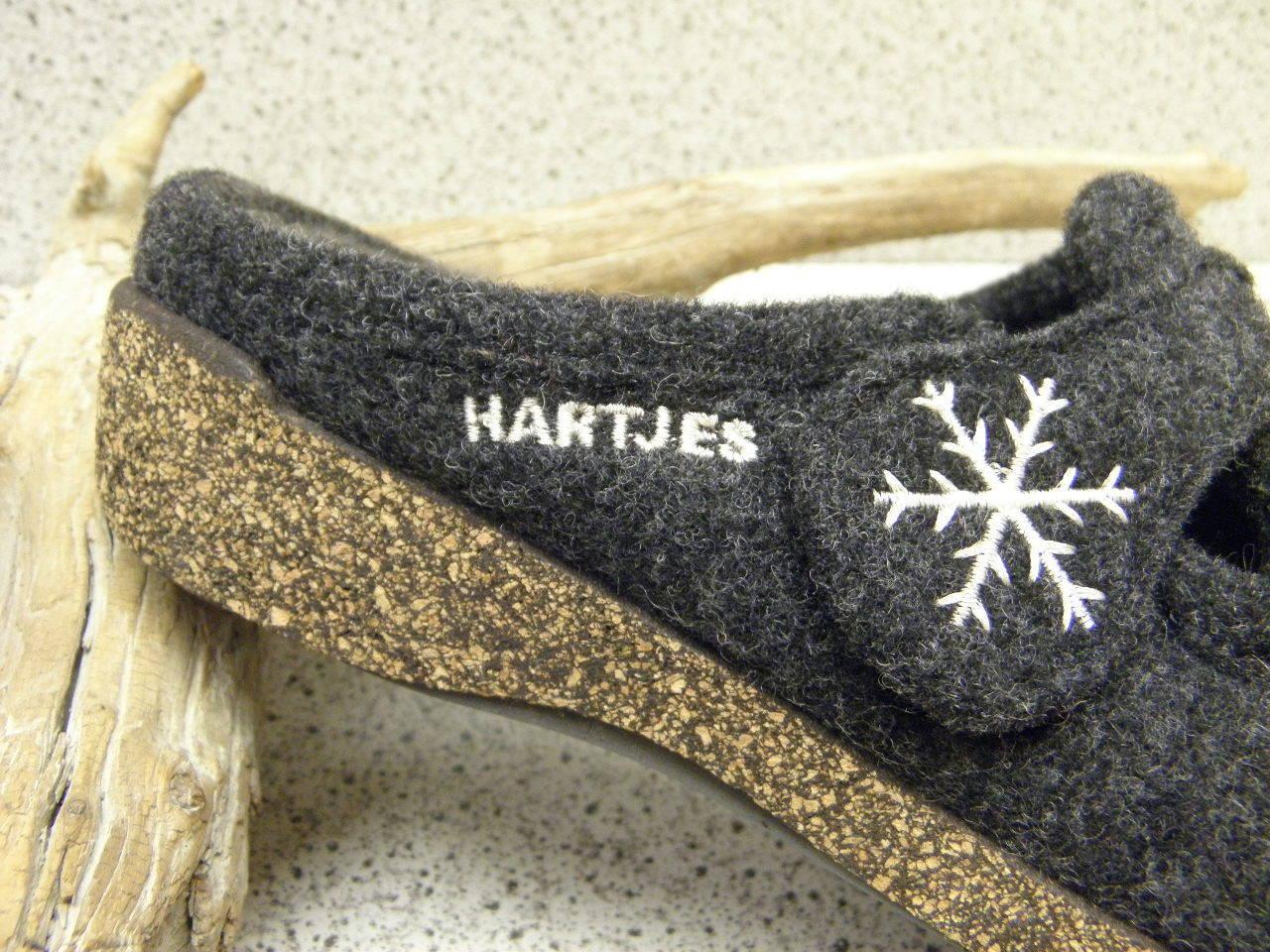 Hartjes® bisher    Filz Wolle Wolle Wolle und Lammfell Pantoffel grau (512) c2c20c