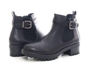 Details zu Neu Damen Winter Stiefel Stiefelette Schwarz warm gefüttert Gr. 36 41 # 545