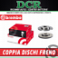 Coppia Dischi freno BREMBO 09.A727.14 DACIA DUSTER 1.5 dCi 90CV 66KW DAL 10//2010