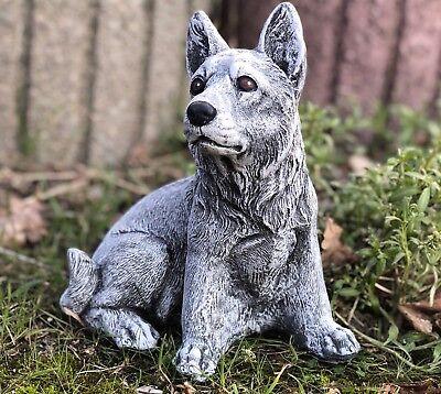 Figura di pietra pastore cane resistente al freddo for Arredamento pastore
