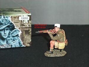 King And Country Ea53 8th Armée Légionnaire à Genoux Tirant Toy Soldier Figure-afficher Le Titre D'origine ModéLisation Durable