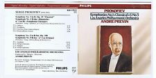 PROKOFIEV CD SYMPHONY 1.5 / ANDRE PREVIN/ LOS ANGELES PHILHARMONIC ORCHESTRA