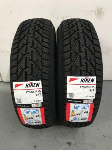Michelin 1756515 - TWO TYRES Snow 84T 175 65 15 2 x 175//65 R15 Riken