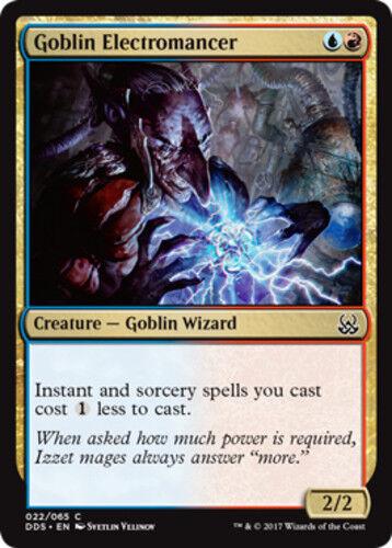 4x Goblin Electromancer NM-Mint English Duel Decks Might MTG Magic Mind vs