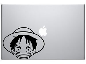 Details About One Piece Monkey D Luffy Cartoon Decal Vinyl Car Wall Laptop Sticker 6 Black