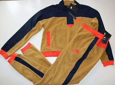 NIKE Sportswear NSW Femmes Polaire Pantalon Pull Survêtement Sourdine Bronze S XL | eBay