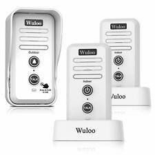 Response CL3622B Wireless Door Intercom with 3 x Telephone Handsets