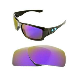 e56a539df87 Image is loading NEW-POLARIZED-CUSTOM-PURPLE-LENS-FOR-OAKLEY-BIG-