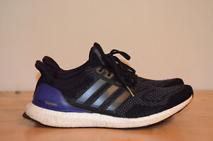 dd2901a42af2a adidas Ultra Boost M 1.0 OG Core Black Gold Metal Purple B27171 ...
