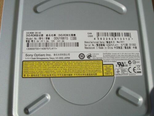 Sony Optiarc Black DDU1681S-OB 18X DVDROM TESTED 3 Pack