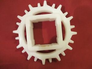 """Intralox S2400,Acetal 1-1//2/"""" Square Bore Sprocket S3F5XXCHE7NG-11 lot of 2"""