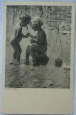 AK FOTOKARTE KINDER vor 1945 Nackt Nude Child Foto Jobst in Wien Badefreuden