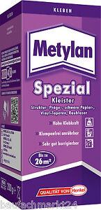 Metylan spezial kleister auch für vliestapeten