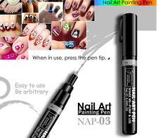 Silver Nail Art Pen Painting Design Tool DIY Dot Drawing UV Gel Polish Manicure