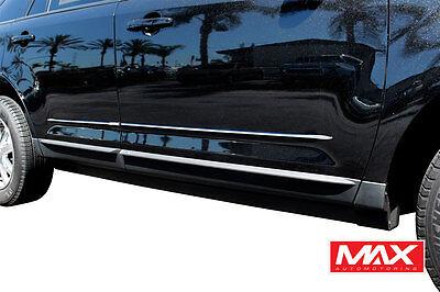 2016-2018 Toyota Tacoma Extended Lower Chrome Streamline Side Door Body Molding