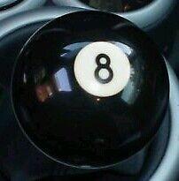 BMW Mini Cooper Gear Knob 8 Bola de Bola de piscina