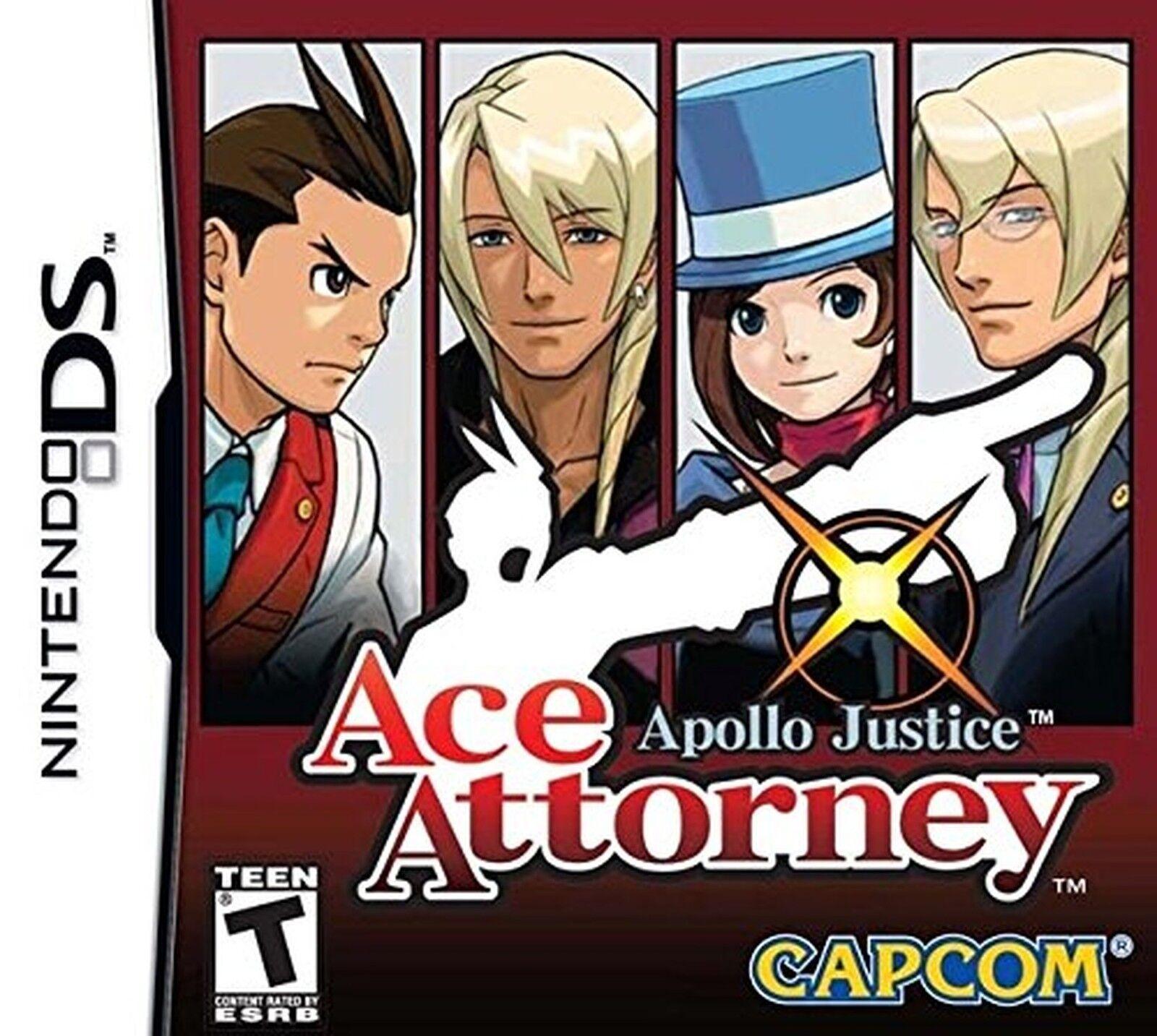 Apollo Justice: Ace Attorney (Nintendo DS, 2008) 1