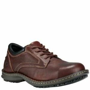 Timberland-PRO-Men-039-s-Gladstone-ESD-Steel-Toe-Work-Shoes-Brown-TB085590214
