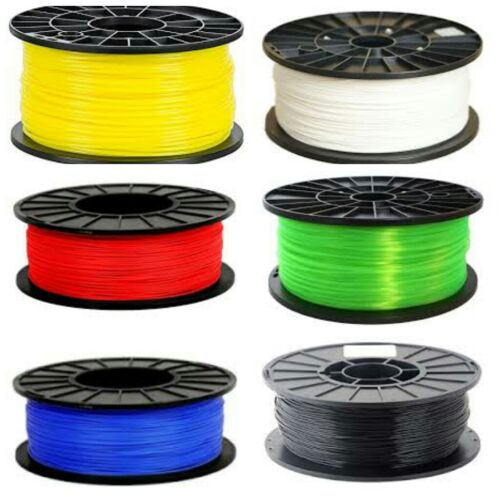 3D ABS Printer Filament 1.75 mm 1 kg//2.2 lb PFABSWH PFABSBK PFABSBL PFABSRD
