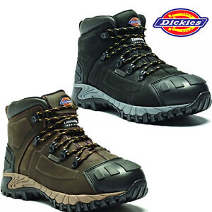 03ff540d7e7 Details about MENS DICKIES MEDWAY S3 WATERPROOF SAFETY WORK BOOTS HIKER  STEEL TOE CAP SHOES SZ